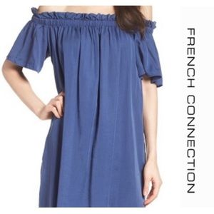 FRENCH CONNECTION Off the Shoulder Dress